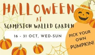 Halloween at Scampston Walled Garden