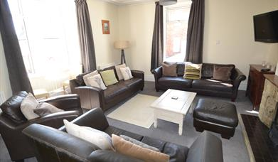 The Harbourmaster's House lounge, in East Yorkshire