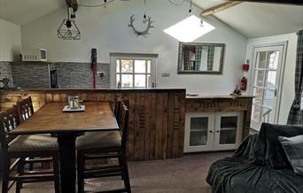 The Hayloft at Burton Fleming.