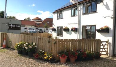 Old Mill Holiday Cottages, Langtoft, East Yorkshire - external view