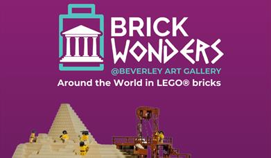 Brick Wonders Exhibition by Warren Elsmore, at The Treasure House, Champney Road, Beverley, East Yorkshire