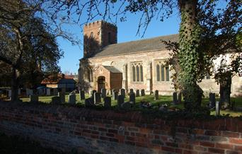 The church at Leconfield in East Yorkshire.