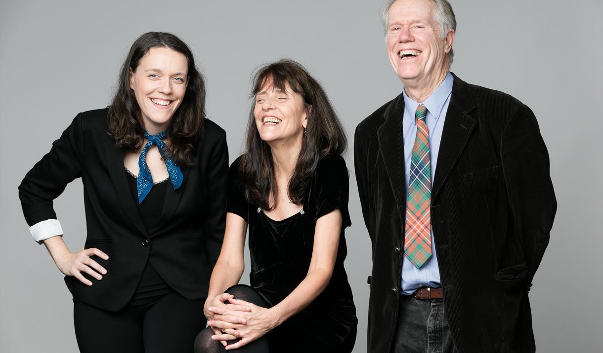 Loudon Wainwright III, Suzzy Roche, Lucy Wainwright Roche, at Pocklington Arts Centre, Pocklington, East Yorkshire