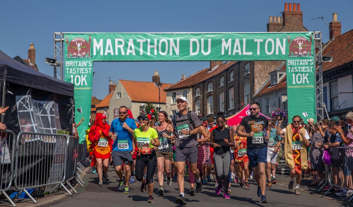 Marathon du Malton, Malton, Yorkshire
