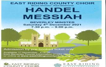 Handel Messiah poster