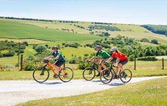 Millington, Yorkshire Wolds in East Yorkshire - credit Cycle England