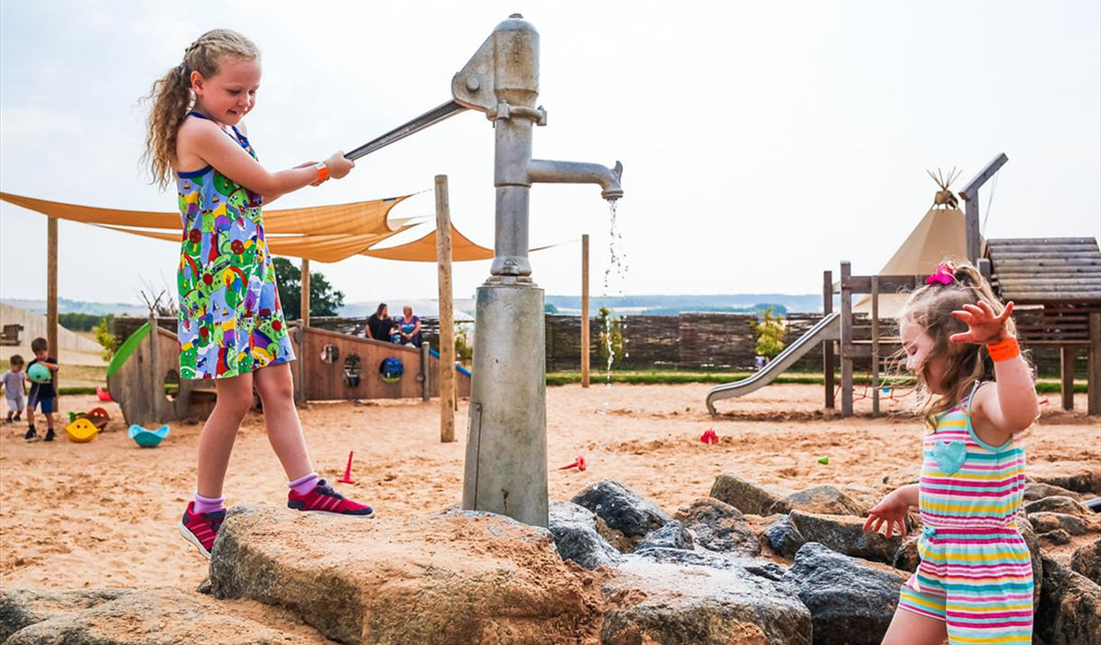 Outdoor Play is back at William's Den