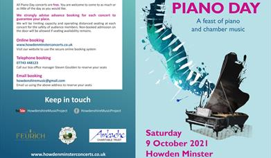 Piano Day at Howden Minster, Howden, East Yorkshire