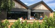 'Pitch 21' - the onsite bar & diner - at Spring Valley Campsite, East Yorkshire