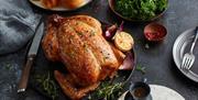 A roast chicken.