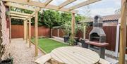Image of Rose cottage. Rear Garden.