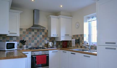 Fully Fitted Kitchen at Sunset Cottage, Bridlington, East Yorkshire