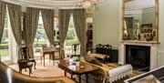 The Drawing Room at Sewerby Hall near Bridlington, East Yorkshire