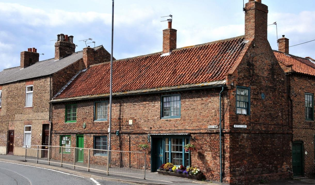 House dating back to 1627 in Snaith, East Yorkshire