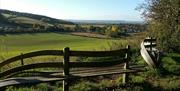 Wander bench near South Cave on the Yorkshire Wolds