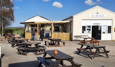 Seaways Cafe in East Yorkshire