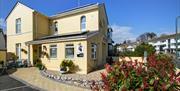 Front of Tyndale, Torquay, Devon