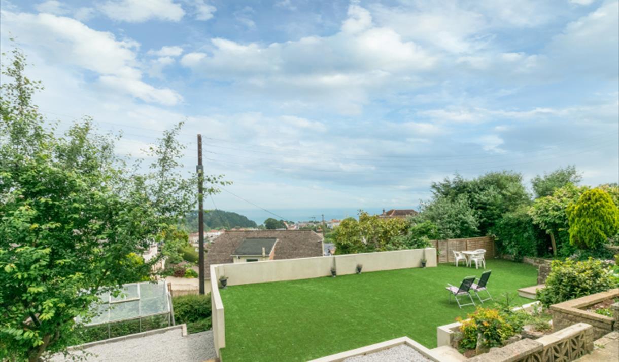 Garden, Panorama, 10 Duchy Drive, Paignton, Devon
