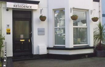 Entrance to P&M Paignton Residence, Devon
