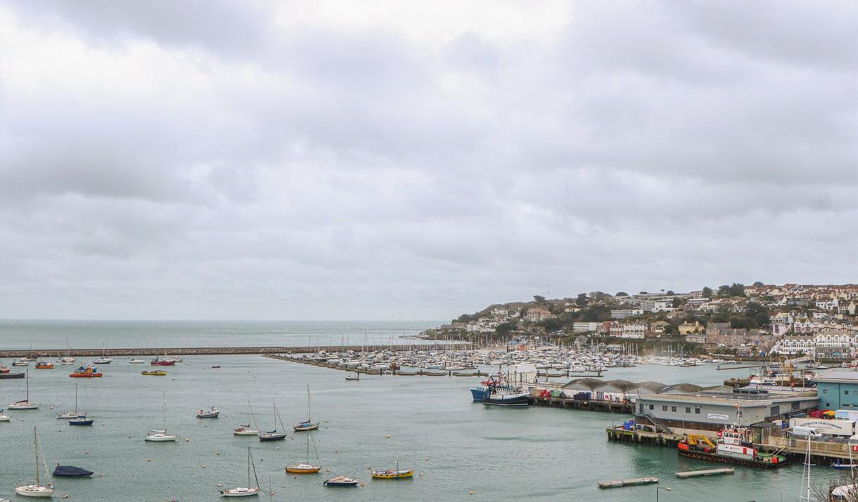 View from 12 Sea View Terrace, Brixham, Devon