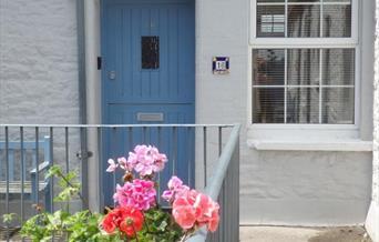 Entrance Doorway, Trinity Mews, Torquay, Devon