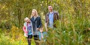 Woodland walks close to Waterside Holiday Park, Paignton, Devon