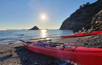 Sea Kayaking with Reach Outdoors