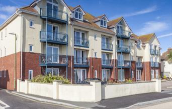 Exterior, 20 Belvedere Court, 37 Marine Drive, Paignton, Devon