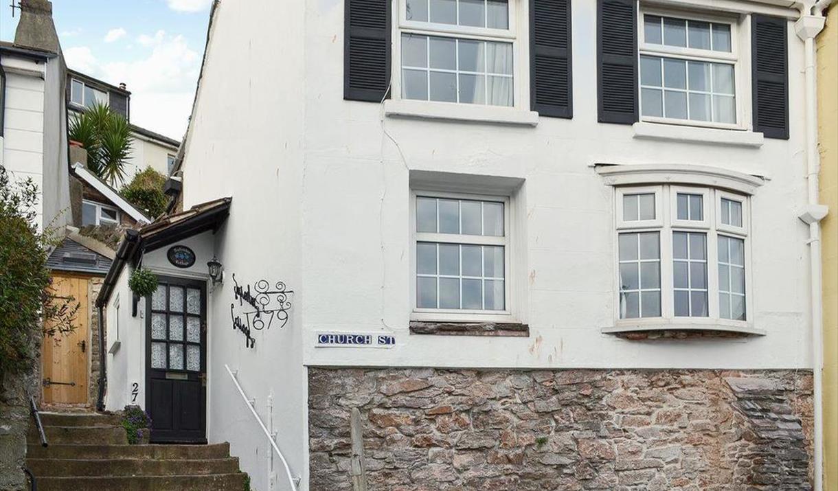 Front of September Cottage, Brixham, Devon