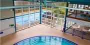 Indoor Pool at Hoburne Devon Bay, Paignton, Devon