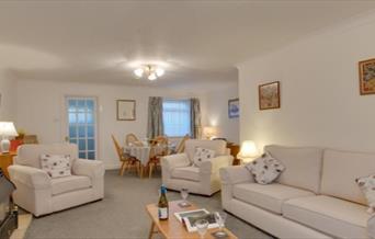 Lounge/Diner, 3 Abbey Mews, Torquay, Devon