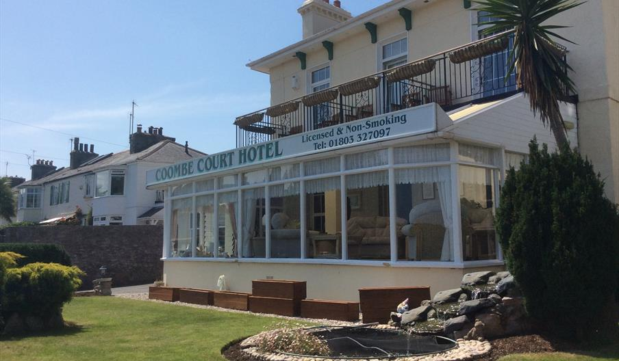 Conservatory at Coombe Court, Babbacombe, Torquay, Devon