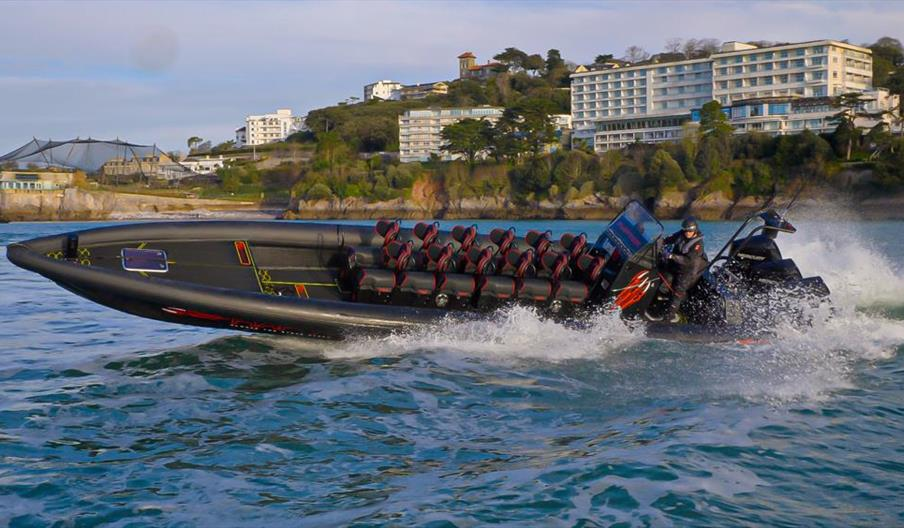 Rib ride at Torquay Watersports