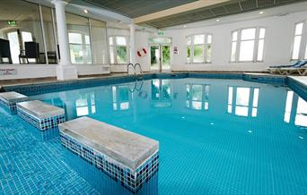 Swimming Pool, Abbey Lawn, Torquay, Devon