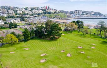 Torre Abbey Leisure Park, Pitch & Putt, Bowls and Tennis in Torquay , Devon