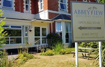 Front of Abbey View, Torquay, Devon