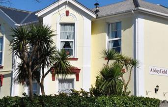 Outside, The Abbeyfield, Torquay, Devon