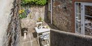 Courtyard, Agatha Cottage, Greenway Road, Galmpton, Nr Brixham