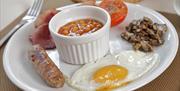 Breakfast, Anchorage Guest House, Brixham, Devon
