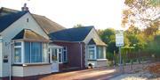 Front of Anchorage Guest House, Brixham, Devon