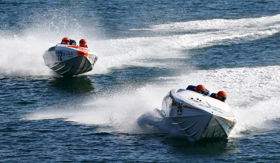 Aqua Adrenaline Racing - with OCRDA Powerboat Racing, Torquay, Devon