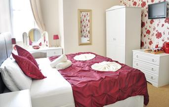 Bedroom at Atlantis Guest House, Torquay, Devon
