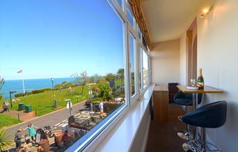 View from the Buccaneer Inn, Babbacombe, Torquay, Devon