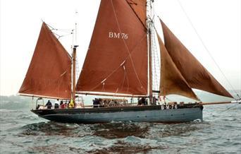 Brixham Heritage Sailing Regatta, Brixham, Devon