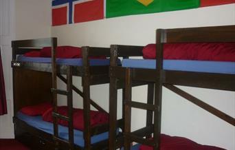 Dormitory, Torquay Backpackers International Travellers Hostel, Torquay, Devon