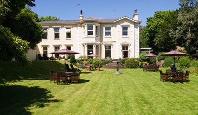 Garden at Hotel Balmoral, Torquay, Devon