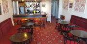 Bar area at Abbey Court Hotel, Torquay, Devon