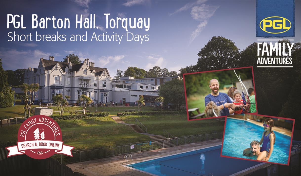 PGL Barton Hall, Torquay, Devon