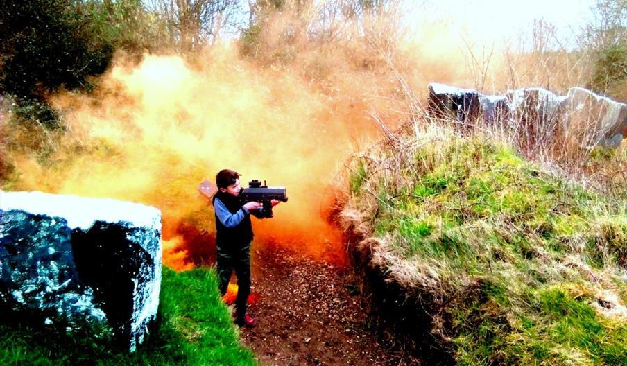 Battlefield Live, nr Brixham, Devon