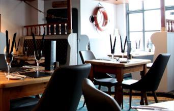 Beamers Restaurant, Brixham, Devon